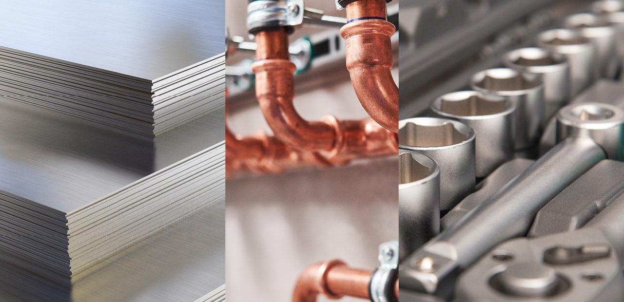 Stahl und Werkstoffe, Heizung und Sanitär, Bau- und Werkzeugtechnik Pritzwalk